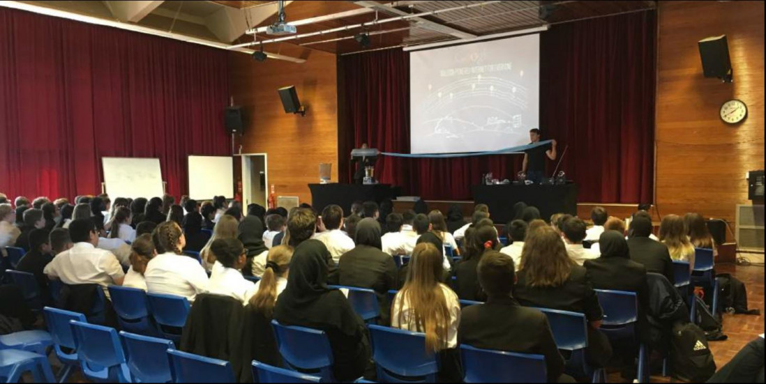 Careers Day at The Mandeville School, Aylesbury