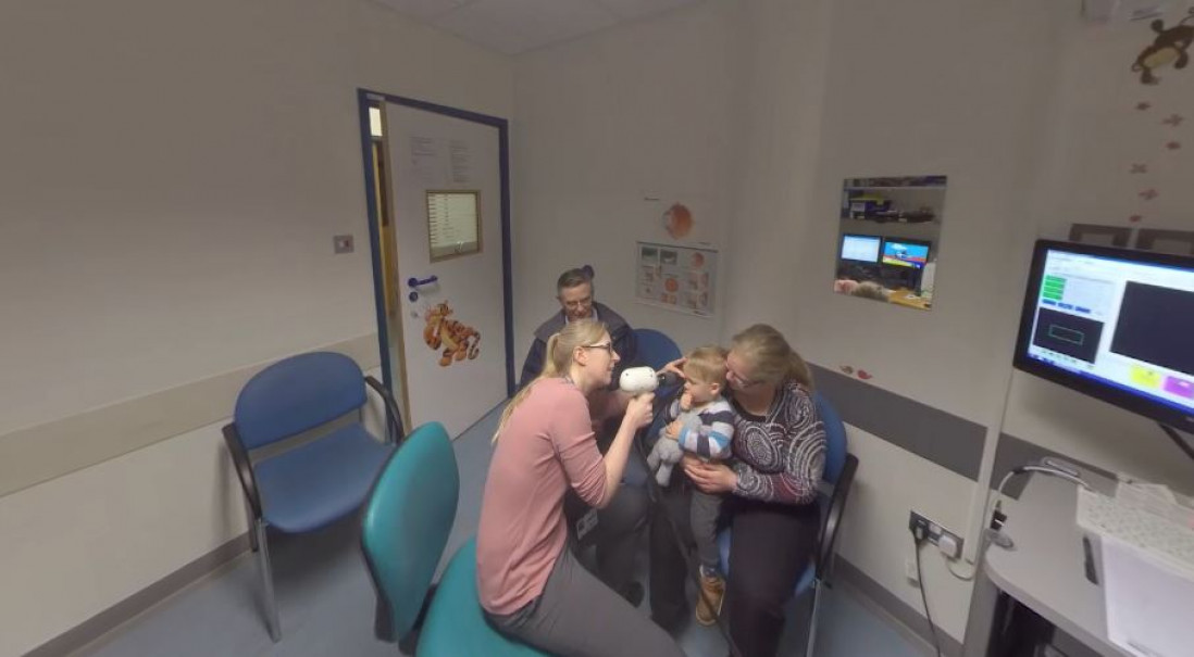 Virtual Reality: Working in the NHS