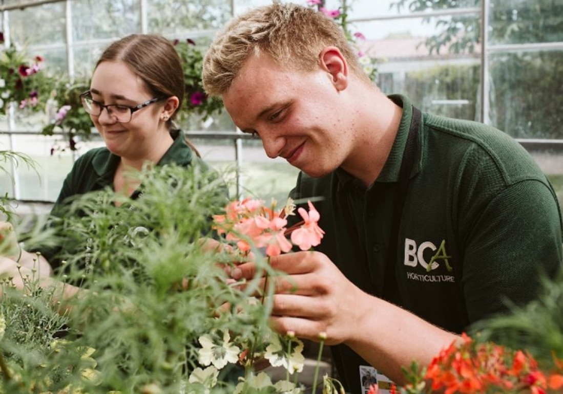 Book on to BCA for veterinary physio to horticulture